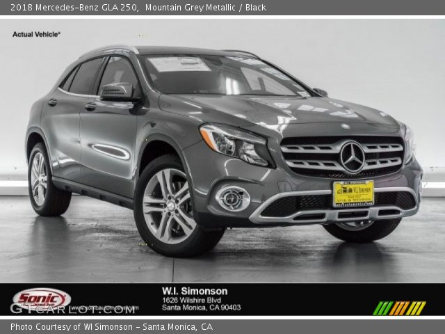 2018 Mercedes-Benz GLA 250 in Mountain Grey Metallic
