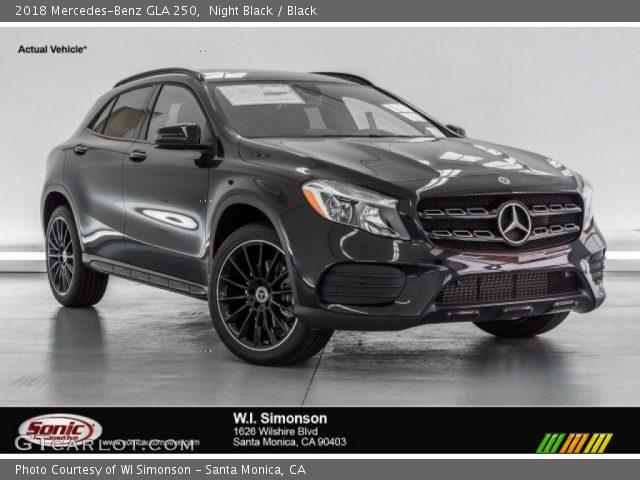 2018 Mercedes-Benz GLA 250 in Night Black
