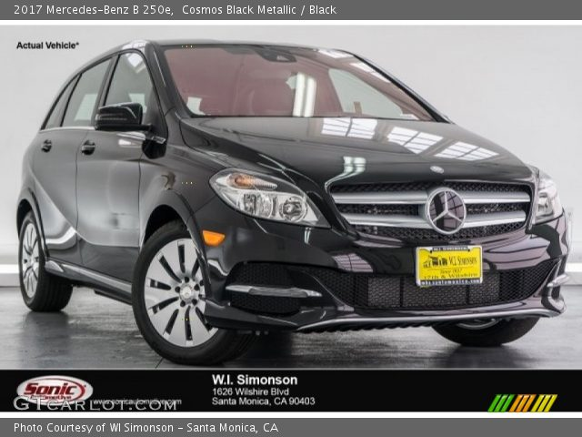 2017 Mercedes-Benz B 250e in Cosmos Black Metallic