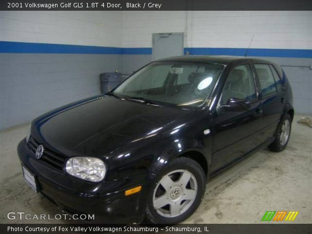 black 2001 volkswagen golf gls 1 8t 4 door grey. Black Bedroom Furniture Sets. Home Design Ideas