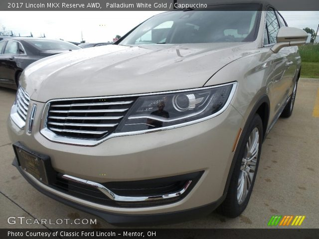 2017 Lincoln MKX Reserve AWD in Palladium White Gold