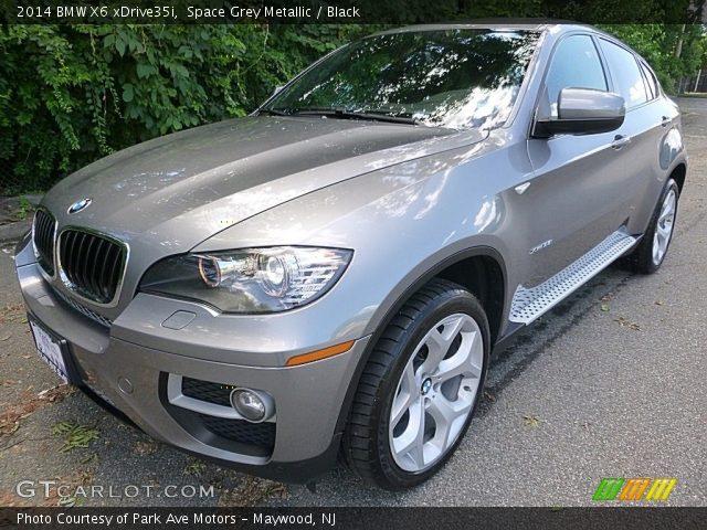 2014 BMW X6 xDrive35i in Space Grey Metallic