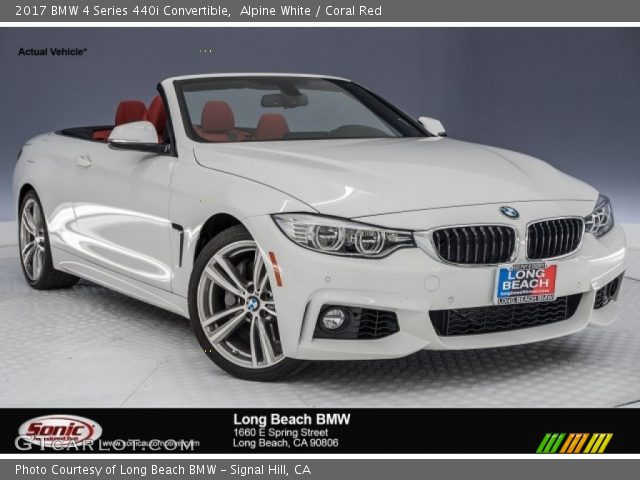 2017 BMW 4 Series 440i Convertible In Alpine White
