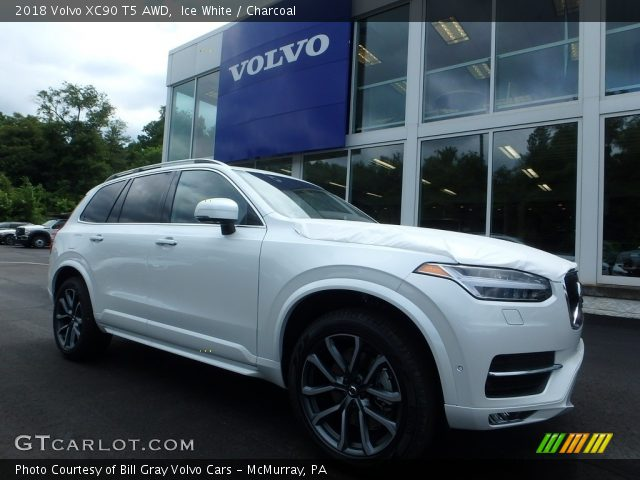 2018 Volvo XC90 T5 AWD in Ice White
