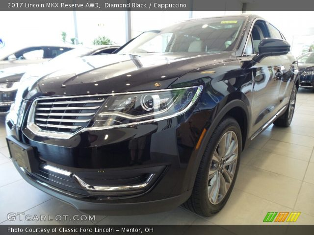 2017 Lincoln MKX Reserve AWD in Diamond Black