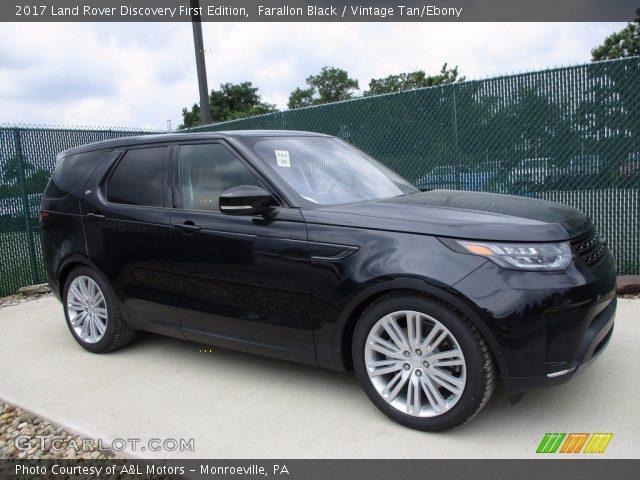 Farallon Black 2017 Land Rover Discovery First Edition