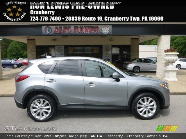2014 Mazda CX-5 Grand Touring AWD in Liquid Silver Metallic