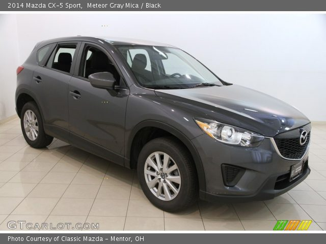2014 Mazda CX-5 Sport in Meteor Gray Mica