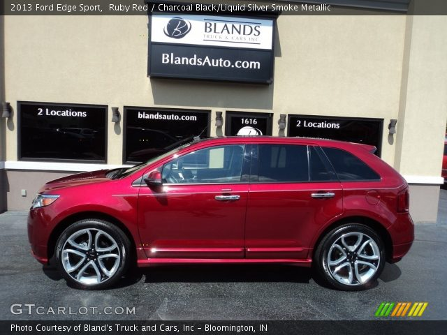 2013 Ford Edge Sport in Ruby Red