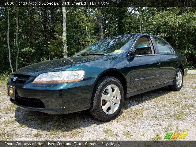 2000 Honda Accord SE Sedan in Dark Emerald Pearl