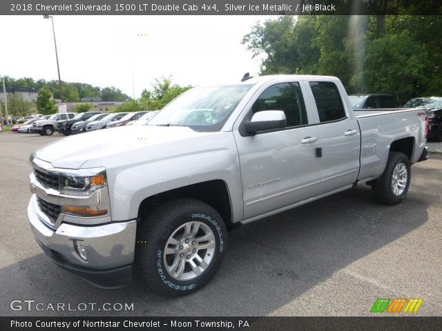 2018 Chevrolet Silverado 1500 LT Double Cab 4x4 in Silver Ice Metallic