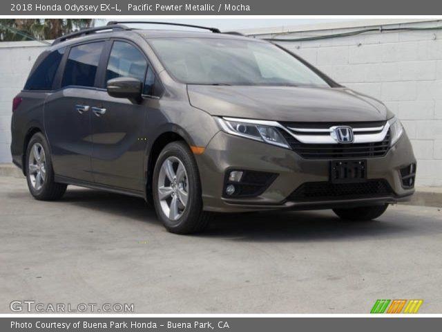 2018 Honda Odyssey EX-L in Pacific Pewter Metallic