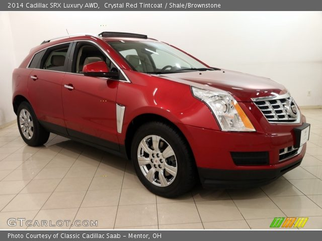 2014 Cadillac SRX Luxury AWD in Crystal Red Tintcoat