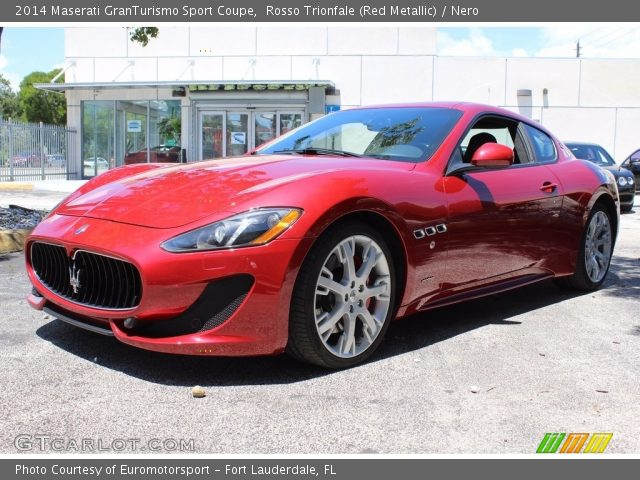 2014 Maserati GranTurismo Sport Coupe in Rosso Trionfale (Red Metallic)