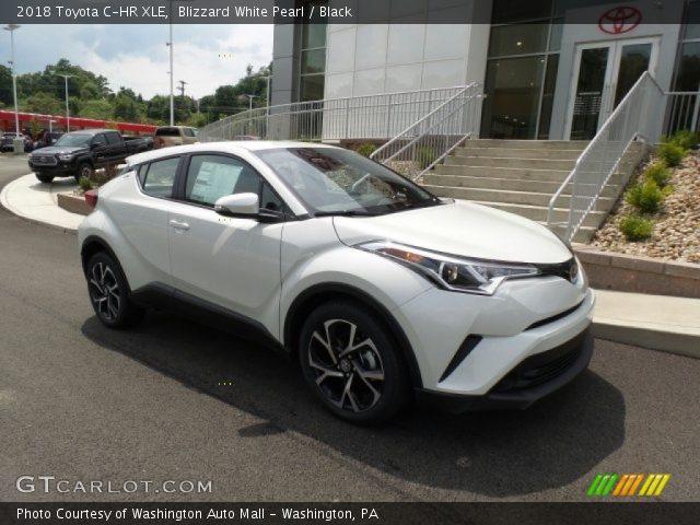 2018 Toyota C-HR XLE in Blizzard White Pearl