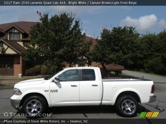 2017 Ram 1500 Laramie Quad Cab 4x4 in Bright White