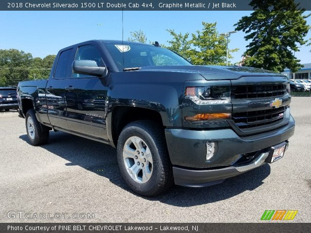 2018 Chevrolet Silverado 1500 LT Double Cab 4x4 in Graphite Metallic