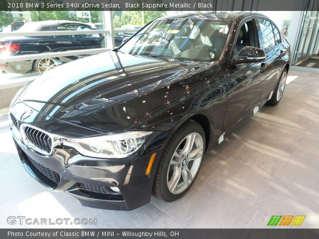 2018 BMW 3 Series 340i xDrive Sedan in Black Sapphire Metallic