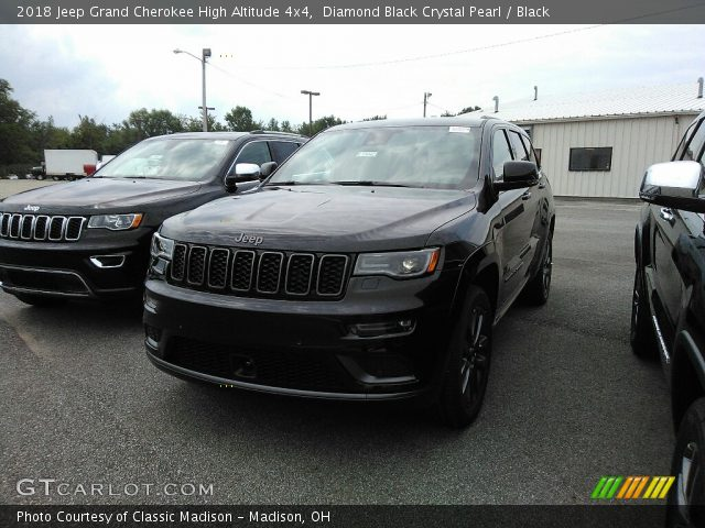 2018 Jeep Grand Cherokee High Altitude 4x4 in Diamond Black Crystal Pearl