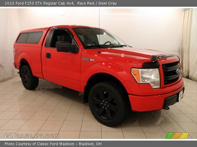 2013 Ford F150 STX Regular Cab 4x4 in Race Red