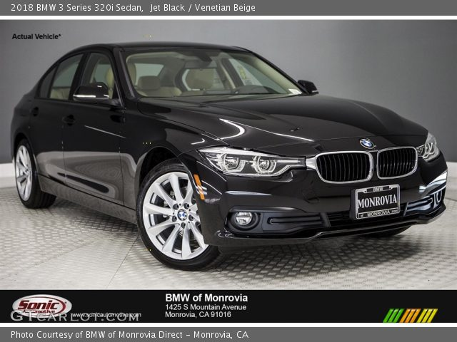 2018 BMW 3 Series 320i Sedan in Jet Black