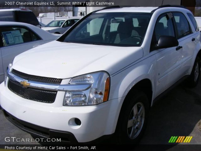 summit white 2007 chevrolet equinox ls light cashmere. Black Bedroom Furniture Sets. Home Design Ideas