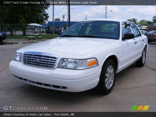vibrant white 2007 ford crown victoria lx medium light. Black Bedroom Furniture Sets. Home Design Ideas