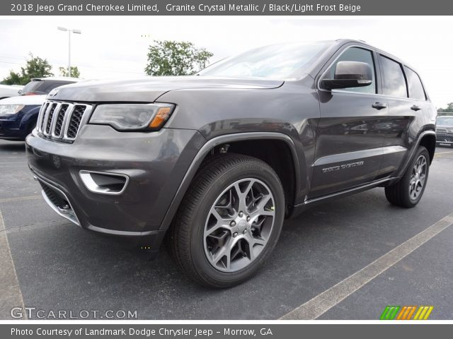 2018 Jeep Grand Cherokee Limited in Granite Crystal Metallic