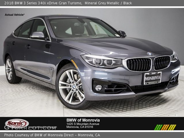 2018 BMW 3 Series 340i xDrive Gran Turismo in Mineral Grey Metallic