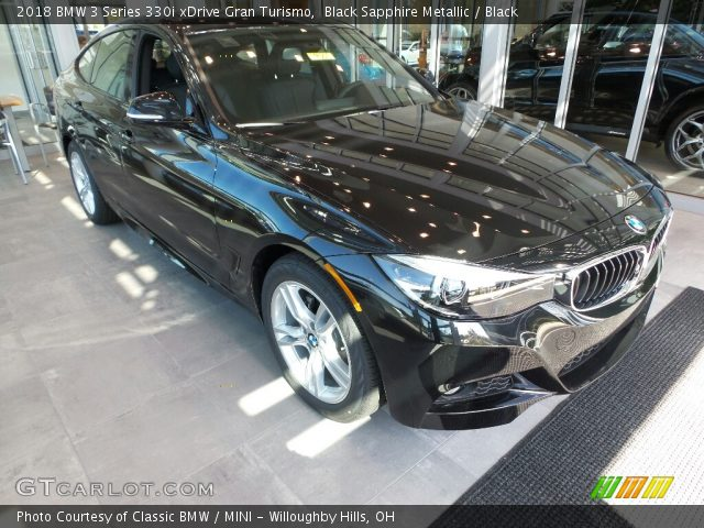 2018 BMW 3 Series 330i xDrive Gran Turismo in Black Sapphire Metallic