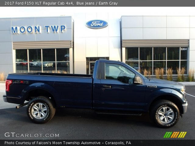 2017 Ford F150 XLT Regular Cab 4x4 in Blue Jeans