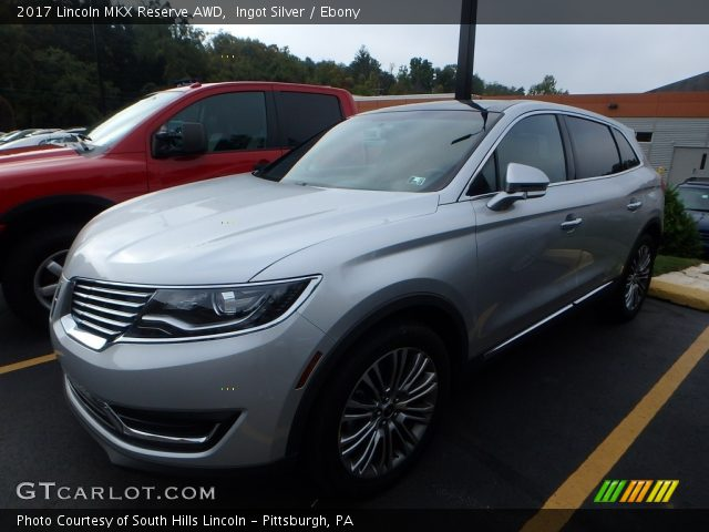 2017 Lincoln MKX Reserve AWD in Ingot Silver
