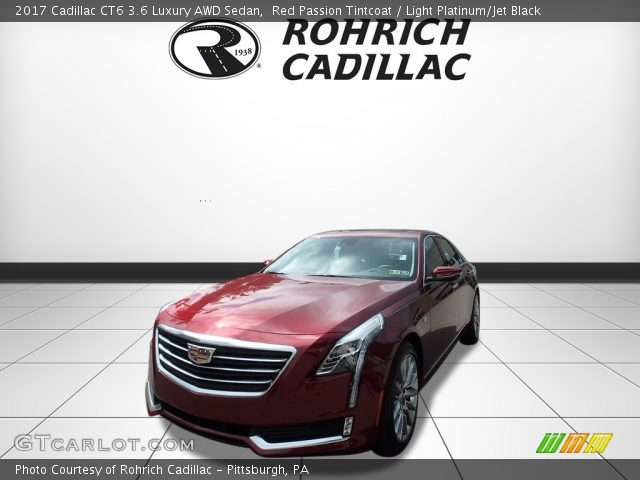2017 Cadillac CT6 3.6 Luxury AWD Sedan in Red Passion Tintcoat