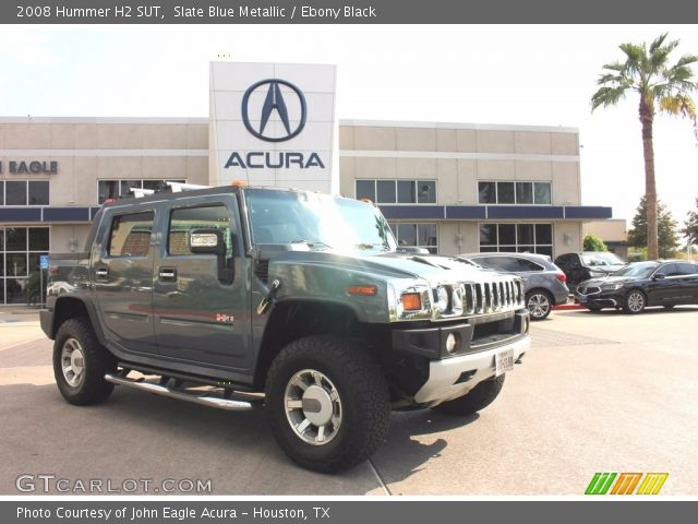 2008 Hummer H2 SUT in Slate Blue Metallic