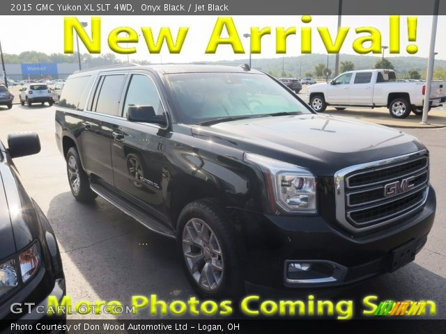 2015 GMC Yukon XL SLT 4WD in Onyx Black