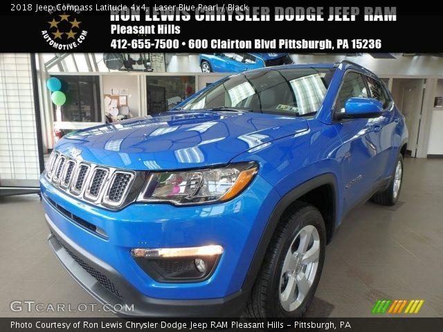 2018 Jeep Compass Latitude 4x4 in Laser Blue Pearl