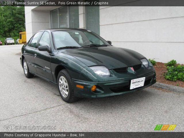 polo green metallic 2002 pontiac sunfire se sedan. Black Bedroom Furniture Sets. Home Design Ideas
