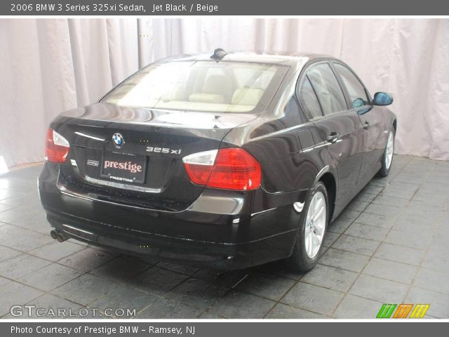 jet black 2006 bmw 3 series 325xi sedan beige interior vehicle archive. Black Bedroom Furniture Sets. Home Design Ideas