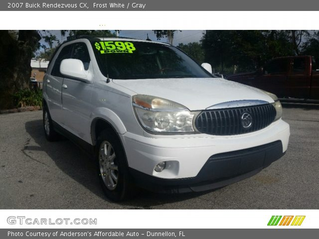 2007 Buick Rendezvous CX in Frost White