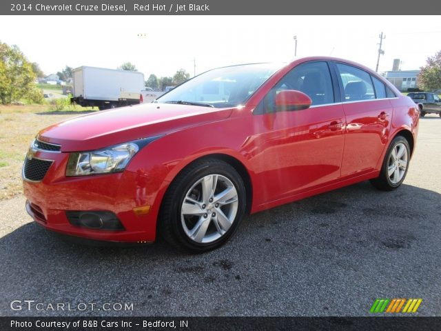 2014 Chevrolet Cruze Diesel in Red Hot