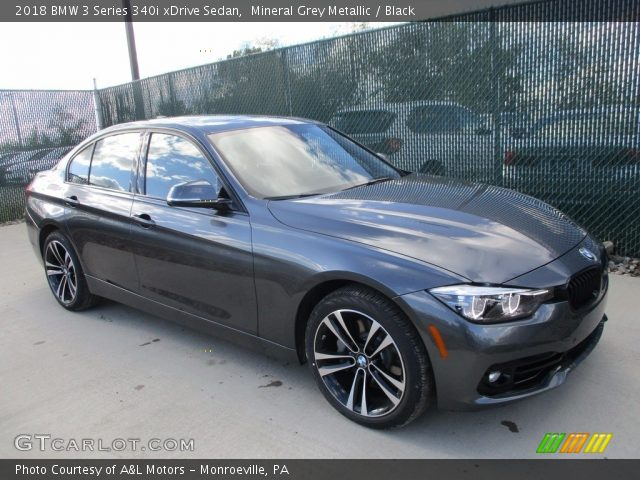 2018 BMW 3 Series 340i xDrive Sedan in Mineral Grey Metallic