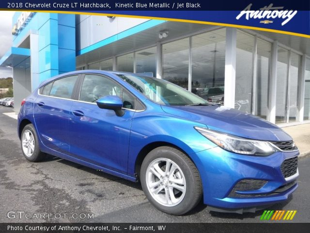 2018 Chevrolet Cruze LT Hatchback in Kinetic Blue Metallic