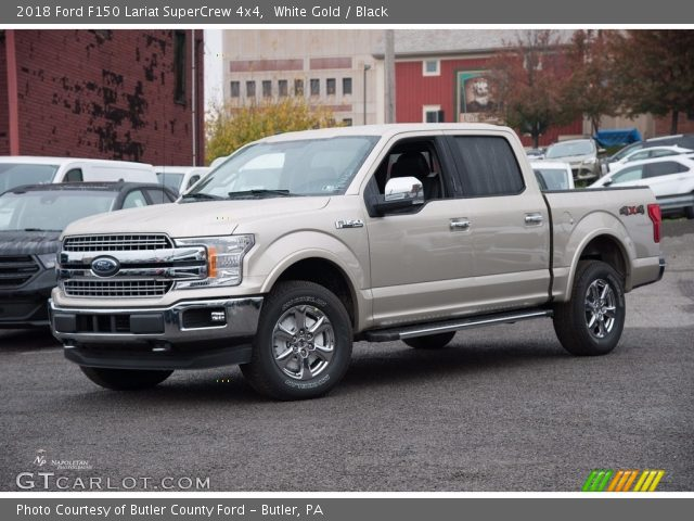 2018 Ford F150 Lariat SuperCrew 4x4 in White Gold