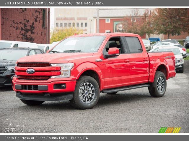 2018 Ford F150 Lariat SuperCrew 4x4 in Race Red