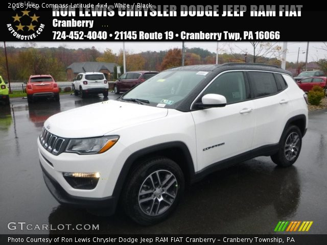 2018 Jeep Compass Latitude 4x4 in White