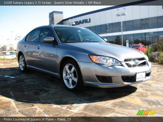 quartz silver metallic 2008 subaru legacy sedan. Black Bedroom Furniture Sets. Home Design Ideas