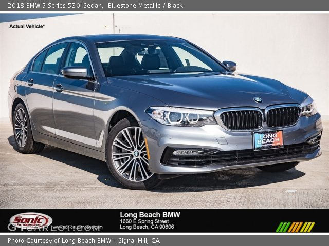 2018 bmw 5 series black