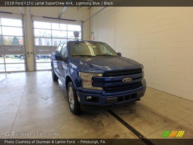 2018 Ford F150 Lariat SuperCrew 4x4 in Lightning Blue