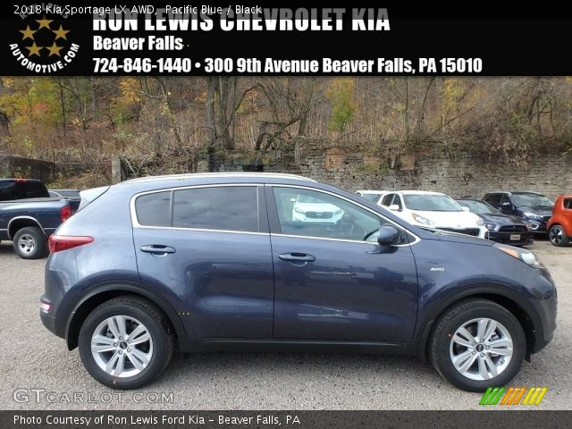2018 Kia Sportage LX AWD in Pacific Blue