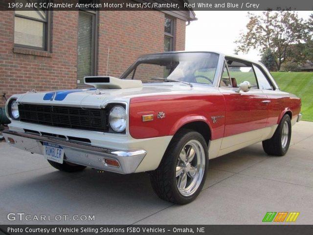 1969 AMC SC/Rambler American Motors' Hurst/SC/Rambler in Red White and Blue